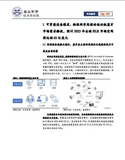IC设计系列报告:2023年全球BLEbeplay手机市场将达到65亿美元(可下载)